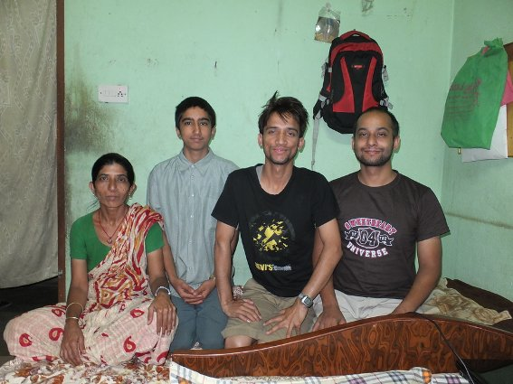 Some of the family I stayed with in Kathmandu