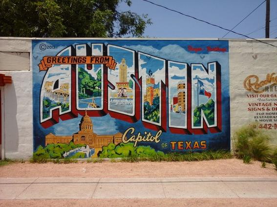 Mural in Austin