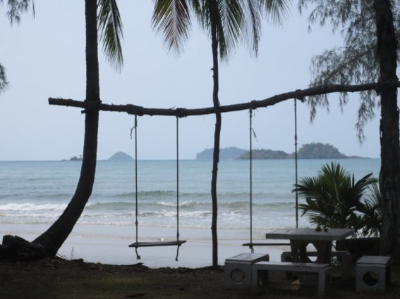 Koh Chang beach view