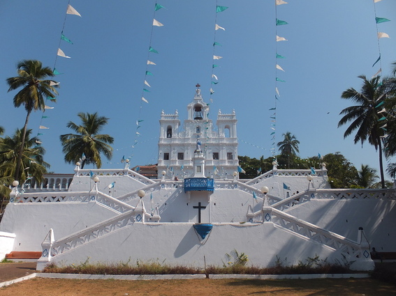Portuguese Church of The Immaculate Conception in Goa