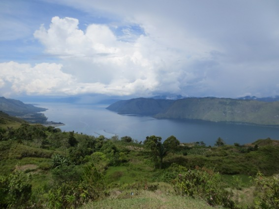 Danau Toba as see from atop Samosir