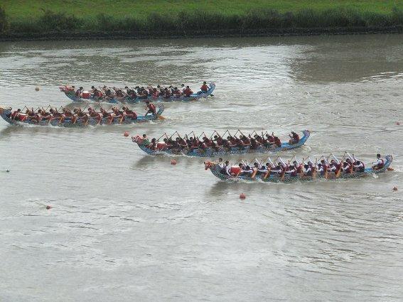 Dragon Boat races in Taipei