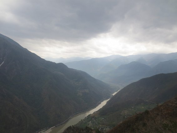 Beginning of Tiger Leaping Gorge