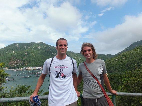 Me and Rob at Lamma Island