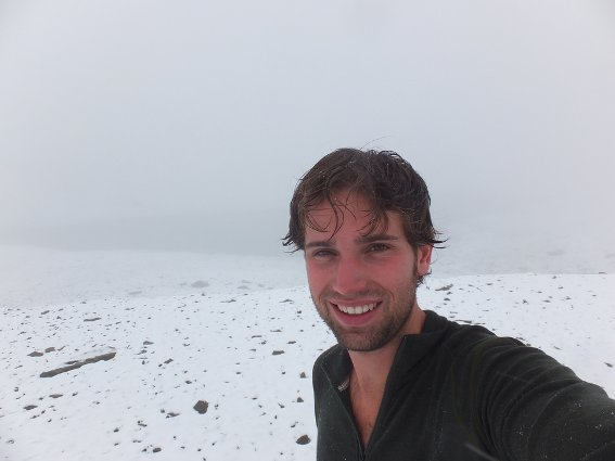 Me at the fake Tilicho lake