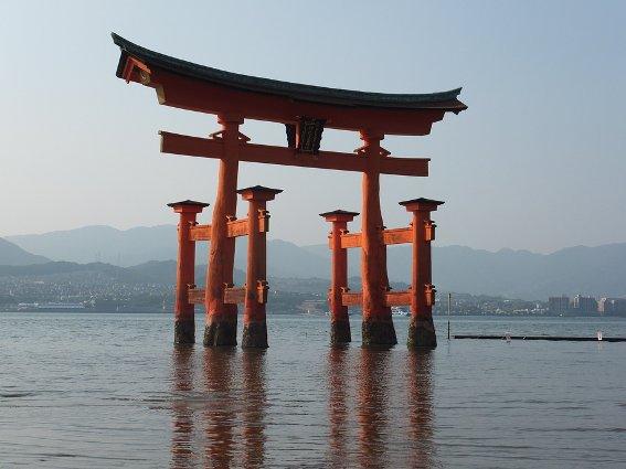 Floating gate at Miyajima