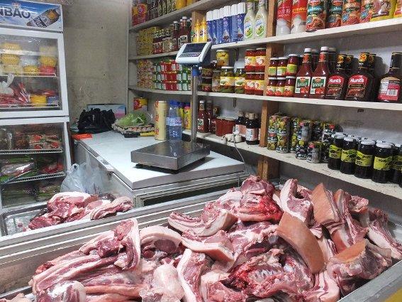 Mongolian grocery store