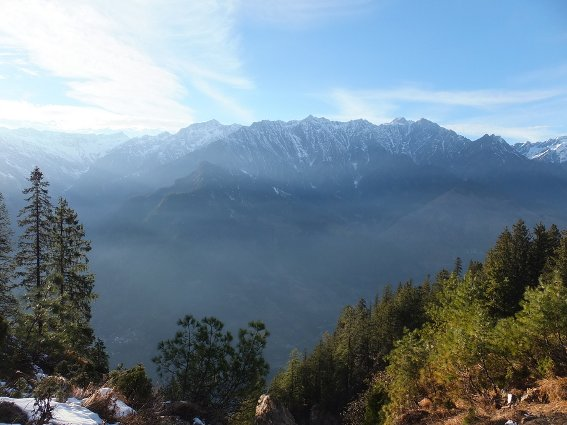 Mountains above Manali