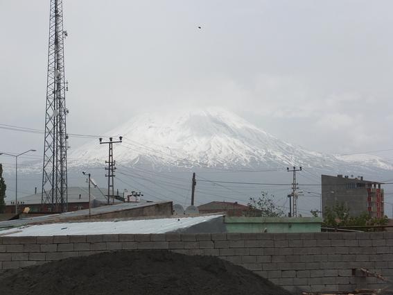 Mount Ararat over Dogubeyazit