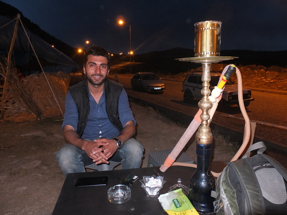 A gentleman of the road in Dogubeyazit