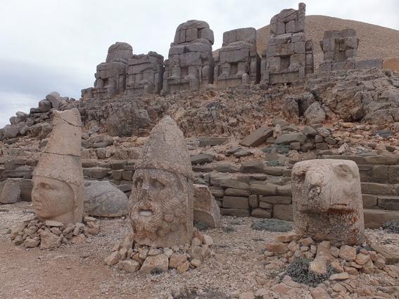 Statues on Mount Nemrut