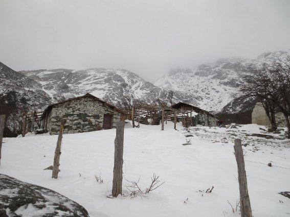 Base camp on Haba Mountain