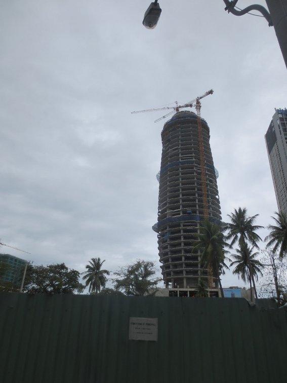 Skyscraper we climbed
