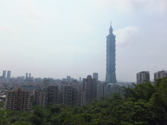Taipei skyline, ruled by Taipei tower
