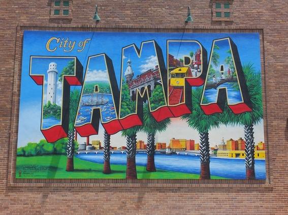 Street art in Tampa