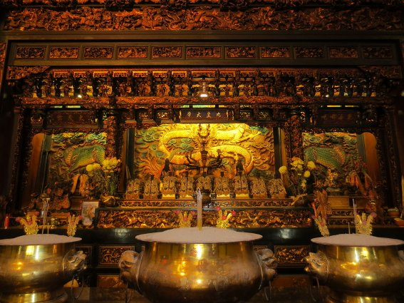 Beautiful temple in Butterworth, Penang