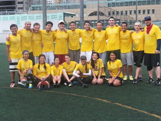 My team at the Hong Kong Hat 2013